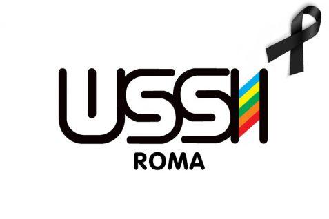 LOGO USSI ROMA LUTTO